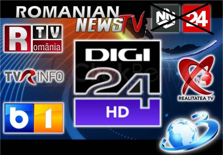 SURPRIZĂ - Apare un nou canal de televiziune de ştiri