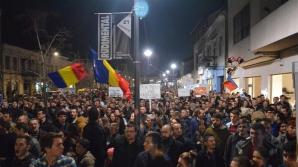 Protest la Cluj Napoca