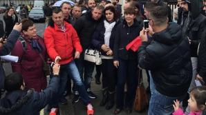 ALEGERI PREZIDENŢIALE 2014 DIASPORA. Macovei, la coada de la ICR Londra: Duceţi-vă la vot!