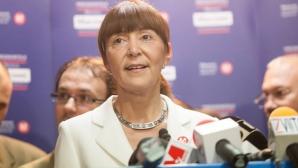Monica Macovei: Îl felicit pe Klaus Iohannis pentru victoria obținută