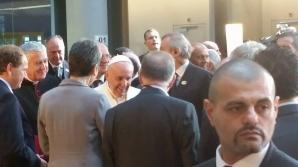 Papa Francisc la Parlamentul European