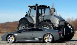 Tractoare Lamborghini