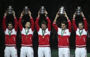 Roger Federer, medalia care îi lipsea