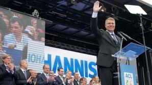 Klaus Iohannis, preşedintele ales. sursa: Adriana Neagoe/Inquamphotos