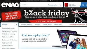 Black Friday 2014. Emag a inceput reducerile