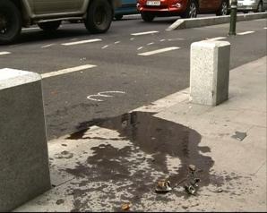 ACCIDENT grav pe Calea Victoriei. Un polițist a fost rănit