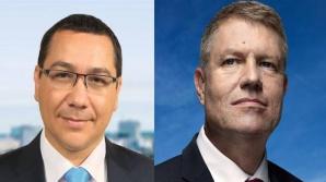 Diferenţa Ponta - Iohannis în sondajele exit poll