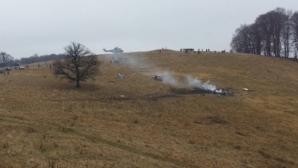 TRAGEDIA AVIATICĂ de la Sibiu: DOSAR PENAL pentru ucidere din culpă şi neglijenţă