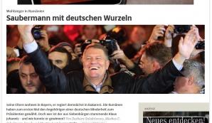 Klaus Iohannis în presa din Germania