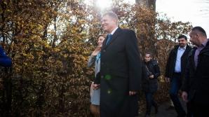 Klaus Iohannis alături de soţia sa, Carmen sursa: Ovidiu Dumitru Matiu/Inquamphotos