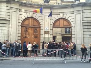 ALEGERI PREZIDENŢIALE 2014 REZULTATE DIASPORA Cum au votat românii din Paris