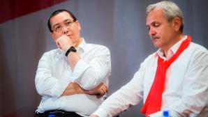 Victor Ponta, alături de Liviu Dragnea sursa: Ovidiu Dumitru Matiu/Inquamphotos.com