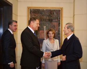 Klaus Iohannis, DECLARAŢIE ULUITOARE după întâlnirea cu Regele Mihai I / Foto: Facebook.com