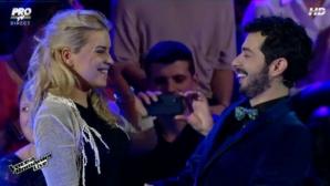 Anunţul făcut de Marius Moga, în direct la TV, a emoţionat-o pe logodnica sa