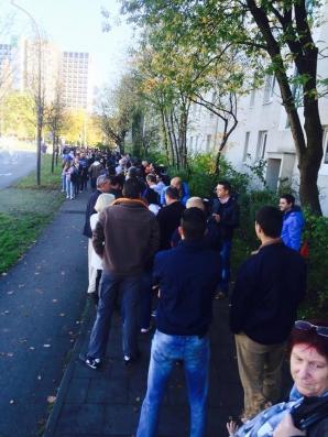 Munchen: Cozi uriaşe la vot în străinătate