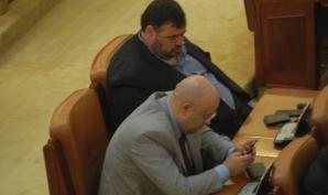 În Parlamentul României, se doarme în timpul serviciului