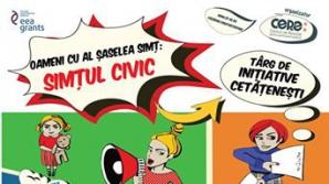 Primul târg de inițiative cetățenești din București - Oameni cu al șaselea simț: simțul civic - va avea loc pe 22 noiembrie