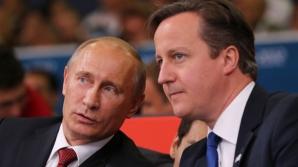 Întrevedere Putin-Cameron, în vederea ameliorării relaţiilor dintre Moscova şi Occident