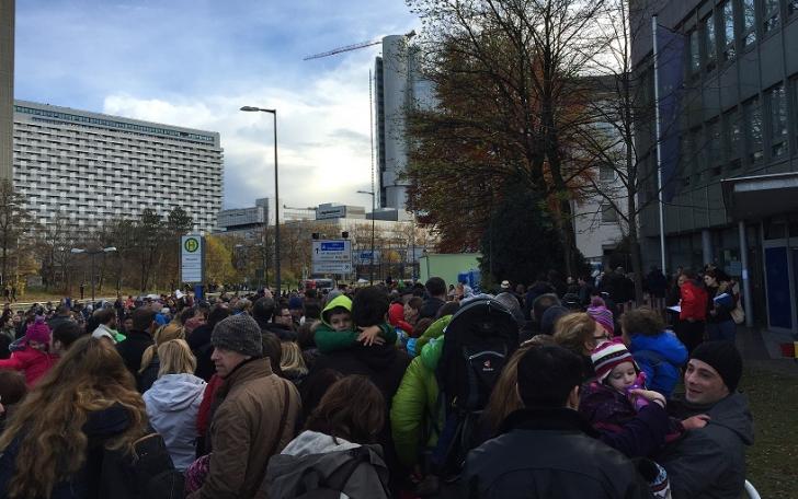 Imagine de la Munchen, un epicentru al votului de azi din diaspora