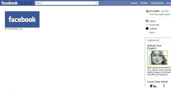 PROBLEMA FACEBOOK: o parte a utilizatorilor nu vedeau decât pagini goale, miercuri dimineaţă