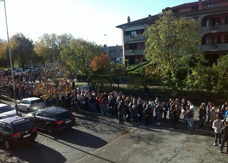 Brescia, coada la vot