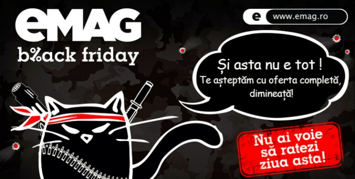 Catalogul eMAG Black Friday