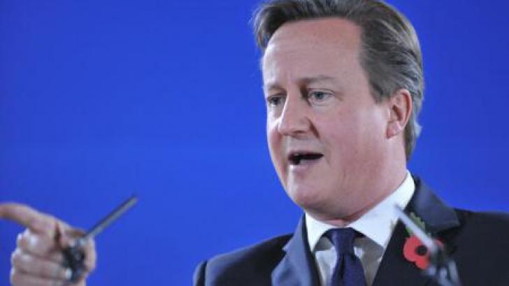 Premierul britanic: RUSIA riscă NOI SANCŢIUNI dacă nu se angajează să rezolve conflictul din Ucraina