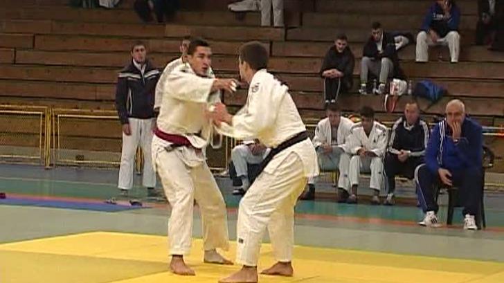Finala campionatului de judo tineret