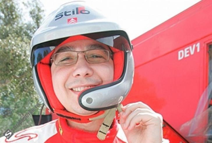 IMAGINI FABULOASE cu Victor Ponta la CURSE