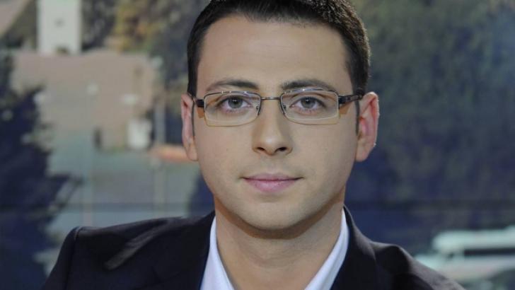 Radu Tudor, prezentatorul jurnalului matinal de la TVR 1