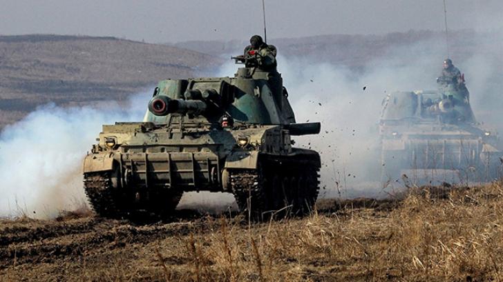 Separatiștii proruși au continuat atacurile sporadice împotriva forțelor guvernamentale ucrainene