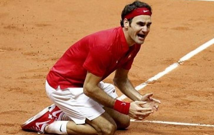 MOMENT ISTORIC pentru Federer. A IZBUCNIT ÎN LACRIMI după ultima minge