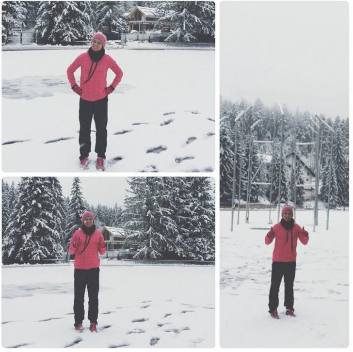 SIMONA HALEP. SURPRIZĂ - Cum se antrenează sportiva noastră la Poiana Braşov