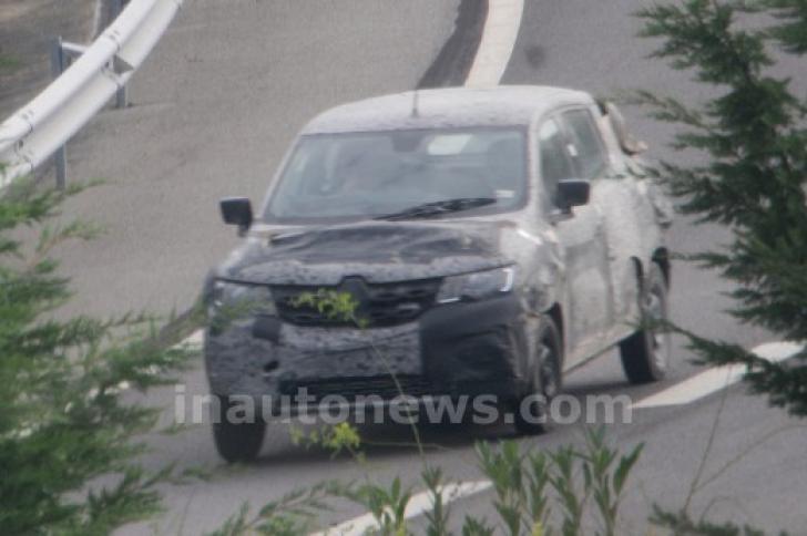 Dacia mini SUV! Fotografii SPION cu un SUV DACIA de mici dimensiuni
