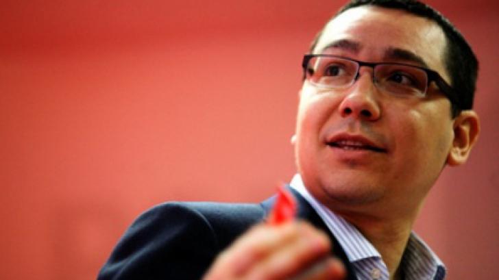 Ponta, implicat în proiectul Forza Rossa