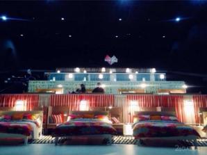 <p>Experiment inedit la Moscova: sală de cinema cu paturi</p>