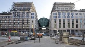 Muncitori romani, protest la Berlin