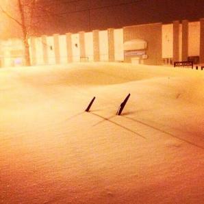 <p>Furtuna de zăpadă a îngropat oraşe în Rusia</p>