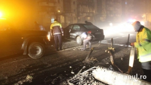 Accident grav la Gherla. Un agent de securitate a ajuns la spital / Foto: dejeanul.ro
