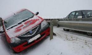 Accident în lanț la km 44 pe A2
