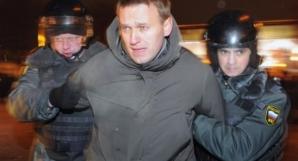 PROTESTE VIOLENTE la Moscova. Mii de oameni au ieşit ÎN STRADĂ. Aleksei Navalnîi, ARESTAT / Foto: independent.md