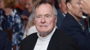 Fostul preşedinte american George H. W. Bush a fost spitalizat