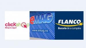 ClickShop, eMAG şi Flanco fac reduceri la televizoare şi electrocasnice