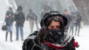 Cel mai frig: minus 26 de grade