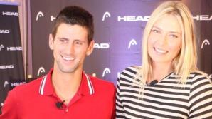 Djokovic și Sharapova, declarați cei mai buni sportivi ai anului