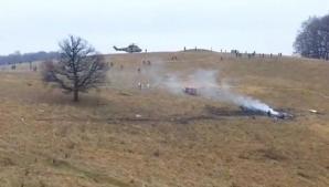 PILOTUL elicopterului militar PRĂBUŞIT în Sibiu A MURIT în spital