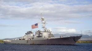 Distrugătorul USS Donald Cook soseşte vineri în Marea Neagră