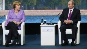 Angela Merkel şi Vladimir Putin