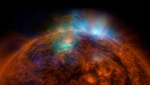 IMAGINE UIMITOARE a Soarelui surprinsă de telescopul NuSTAR