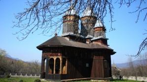 Incendiu puternic la Mânăstirea Poiana Mărului